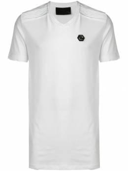 Philipp Plein - футболка с V-образным вырезом CMTK3603PJY660N93569