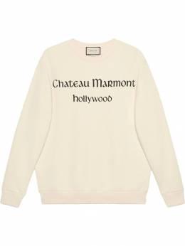 Gucci - толстовка 'Chateau Marmont' оверсайз 056XJAOH935355300000