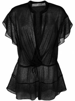 Iro блузка с запахом PANORAMIC