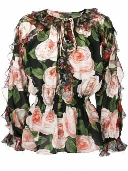 Dolce & Gabbana - блузка с принтом X9THS96J935595880000