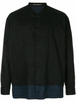 Issey Miyake Men - панельная рубашка без воротника 8FJ68593583595000000