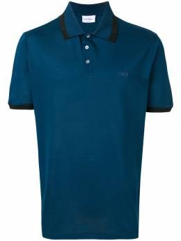 Salvatore Ferragamo - рубашка-поло с контрастной отделкой 09693595899000000000