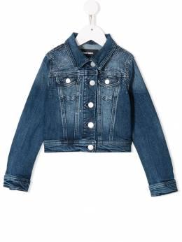 Diesel Kids - джинсовая куртка 'Jimbis' с заклепками 09CKXA93935580550000