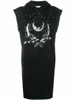 Givenchy - платье-футболка с принтом 6G83Z9F9353956300000
