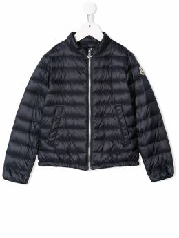 Moncler Kids пальто-пуховик 4689799C0009