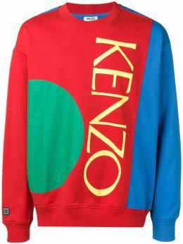 Kenzo - толстовка с контрастными вставками 5SW5535MA93565569000