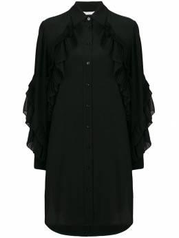 Givenchy - платье на пуговицах с длинными рукавами 6AZ96JX9306586000000