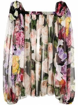 Dolce & Gabbana - блузка с принтом G6THS96E936880500000