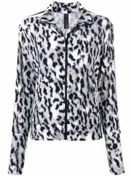 Norma Kamali леопардовая спортивная куртка KK4284PL004400