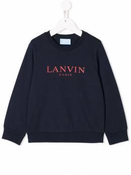 Lanvin Enfant толстовка с логотипом 4K4020KC170