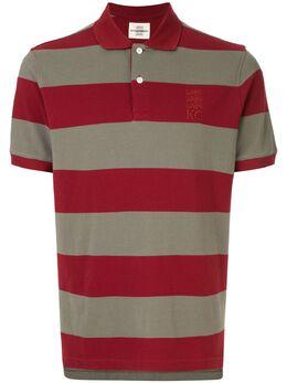 Kent & Curwen рубашка-поло в полоску K39H9TM050