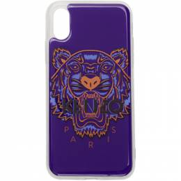 Kenzo Blue 3D Tiger Logo iPhone X/XS Case 192387M15300501GB