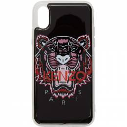 Kenzo Black 3D Tiger Logo iPhone X/XS Case 192387M15300401GB