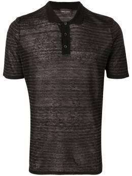 Roberto Collina рубашка-поло в полоску RA39024