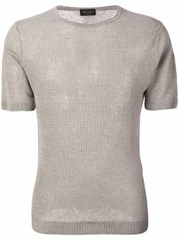 Dell'oglio трикотажная футболка с круглым вырезом A38118015142735