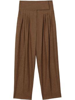 Burberry - классические брюки со складками 65359330596600000000