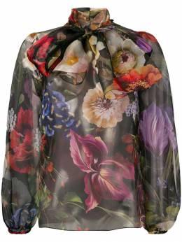 Dolce & Gabbana - блузка с цветочным принтом Q3THS936938309350000