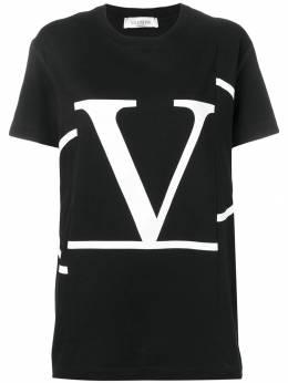 Valentino - футболка с принтом Go Logo MG69G5LD933330360000