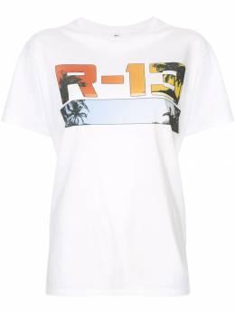 R13 футболка с логотипом R13M391404