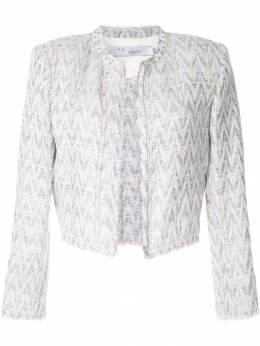 Iro укороченный твидовый пиджак WM07MAKILO