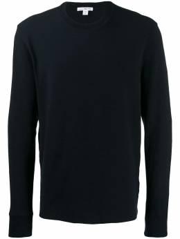 James Perse свитер узкого кроя с длинными рукавами MRZJ3258