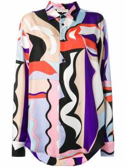 Emilio Pucci - рубашка оверсайз с принтом J969R359933698090000