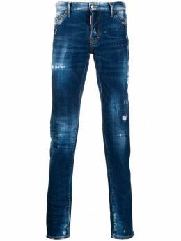 Dsquared2 - джинсы скинни с эффектом потертости LB6590S3635093859593