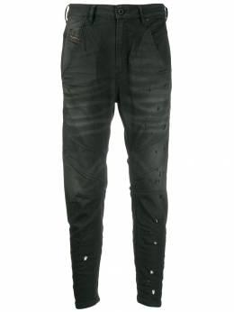 Diesel - джинсы с эффектом потертости WCY669GN956868680000