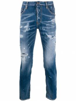 Dsquared2 - джинсы кроя слим с эффектом потертости LB6665S3635095695958