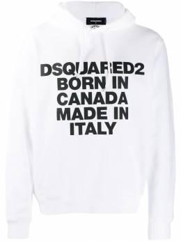 Dsquared2 - худи с графичным принтом GU6366S0563695699693