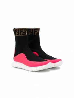 Fendi Kids slip-on sock-style trainers JMR289A8CL