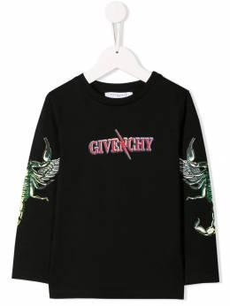 Givenchy Kids толстовка с логотипом H25141M46