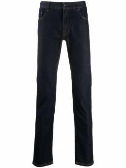 Fendi - джинсы скинни с узором FF на кармане 069A5QE9590060600000