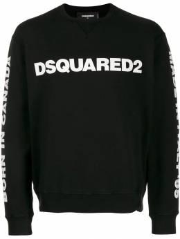 Dsquared2 - толстовка с круглым вырезом и логотипом GU6359S0563695963839
