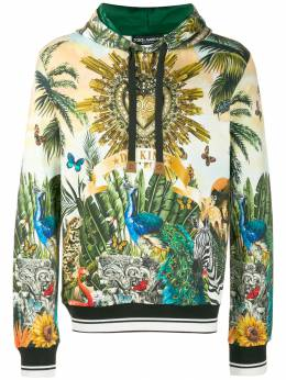 Dolce&Gabbana - худи с принтом Tropical King F9THH3XR959556390000