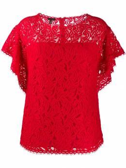 Escada блузка с оборками на рукавах 5030138