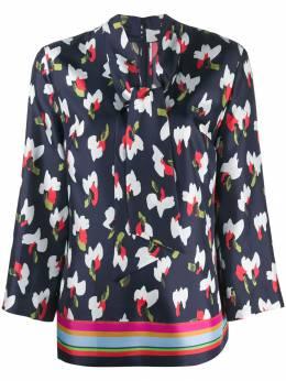 Escada блузка с абстрактным принтом 5030079