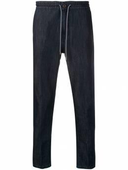 Z Zegna - зауженные брюки из денима 60ZZ5089338563300000