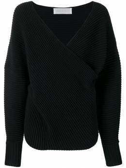 Victoria Victoria Beckham свитер с драпировкой KNTVV145PAW19