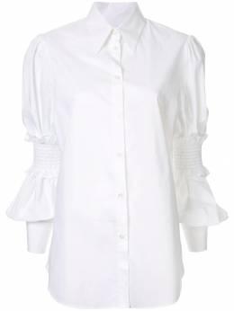 Mm6 Maison Margiela - рубашка с оборками на рукавах DL6690S5309595950835