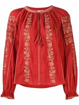 Ulla Johnson блузка Rima с вышивкой PF190206