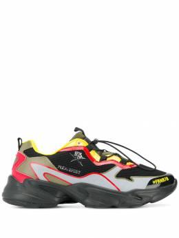 Plein Sport - кроссовки в стиле колор-блок SC0503STE663N6095996