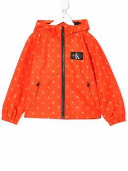 Calvin Klein Kids куртка с логотипом IG0IG00058