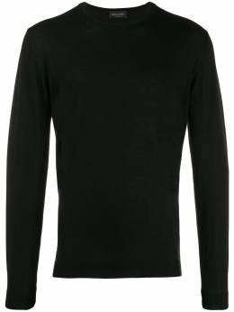 Roberto Collina свитер узкого кроя с длинными рукавами RB01001