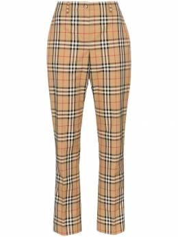 Burberry - брюки Dana прямого кроя в клетку Vintage Check 69639390339900000000