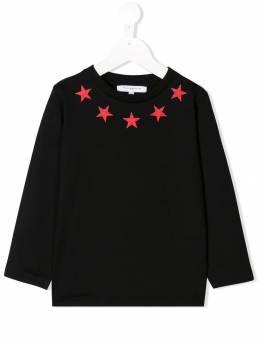 Givenchy Kids толстовка с принтом H25149