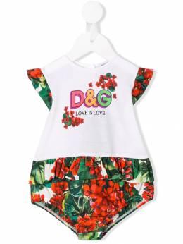 Dolce&Gabbana Kids - боди Love Is Love ON3G3TRM959969880000