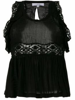Iro блузка с узором и со сборками WM16LEMA