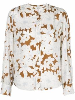 Vince блузка Tropical Blooms со сборками V592112176