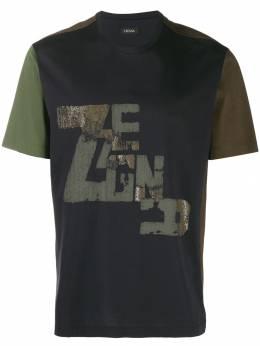 Z Zegna футболка в стиле колор-блок VT372ZZ630F